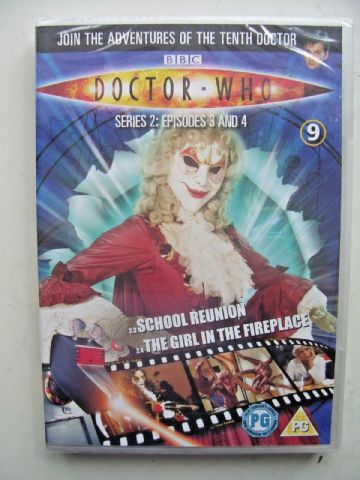 Doctor Who Series 2 Episodes 3 & 4  DVD David Tennant - NEW and SEALED